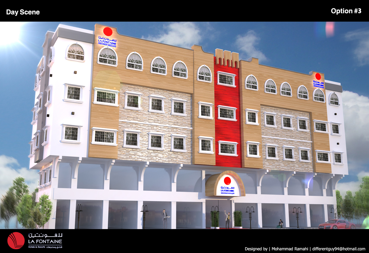 Hotel Exterior: Hotel Exterior Design