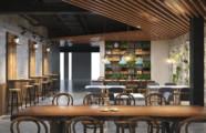 تصميم مطعم فلافل