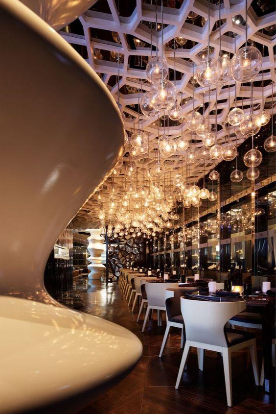 تصميم ديكور مطاعم 2020 روعة