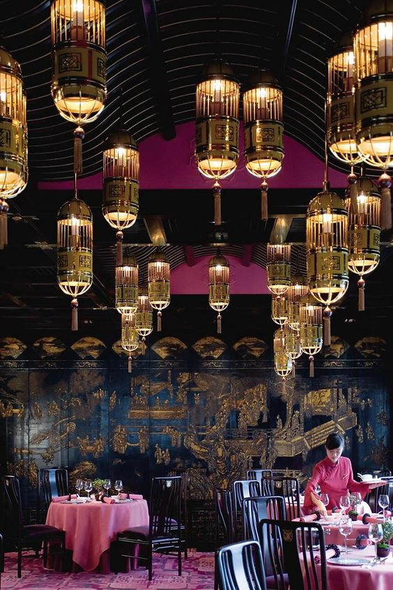 تصميم ديكور مطعم فخم 5 نجوم