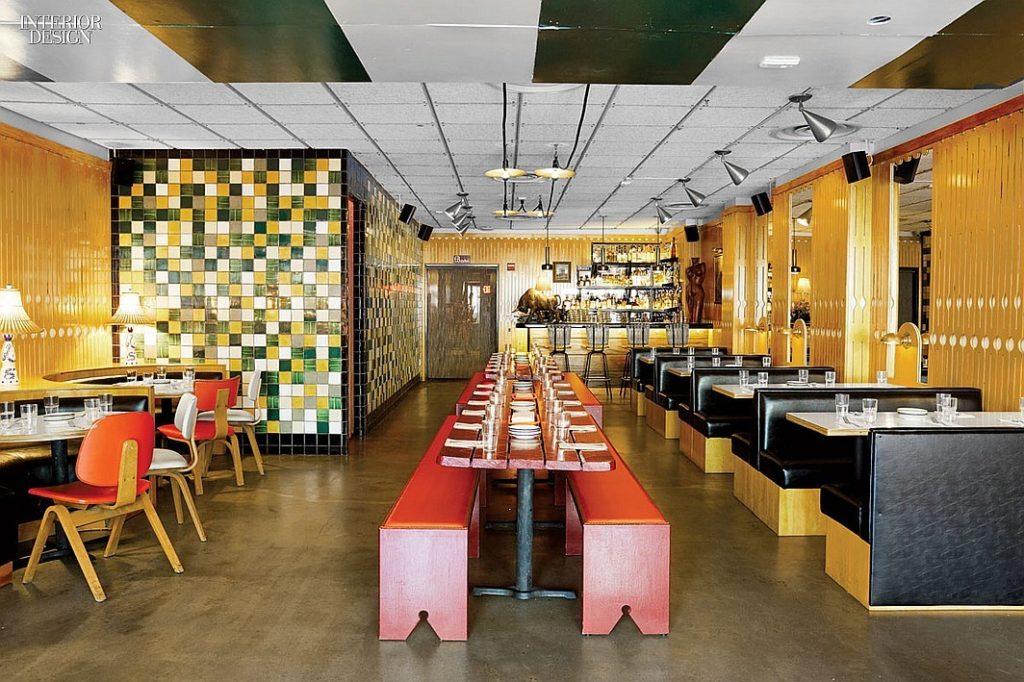 تصميم مطعم دجاج و بطاطس