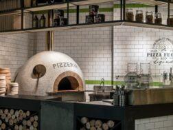 تصميم ديكور مطعم بيتزا