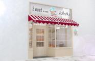 تصميم ديكور محل حلويات
