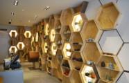 تصميم ديكور محل عسل