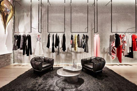 تصميم محل ملابس رجالية