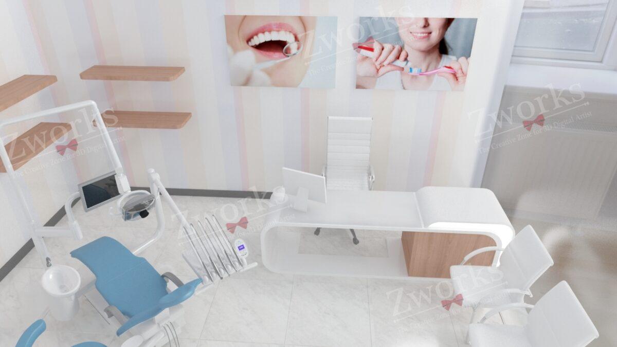 Clinic Interior Design 3D Model (Copy)