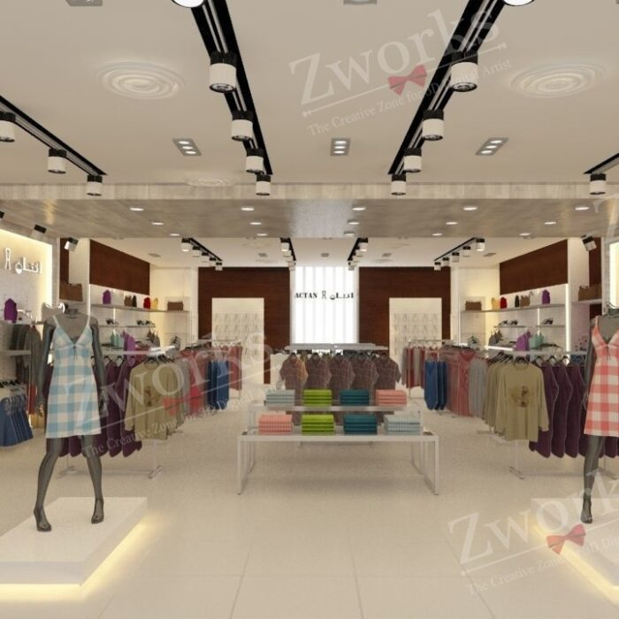 Clothing Store for women 3D Model