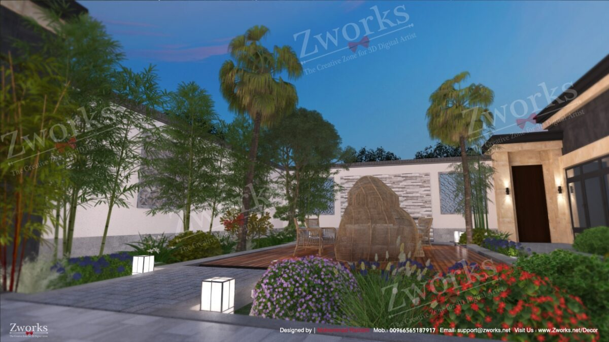 Landscape Outdoor 3D Model