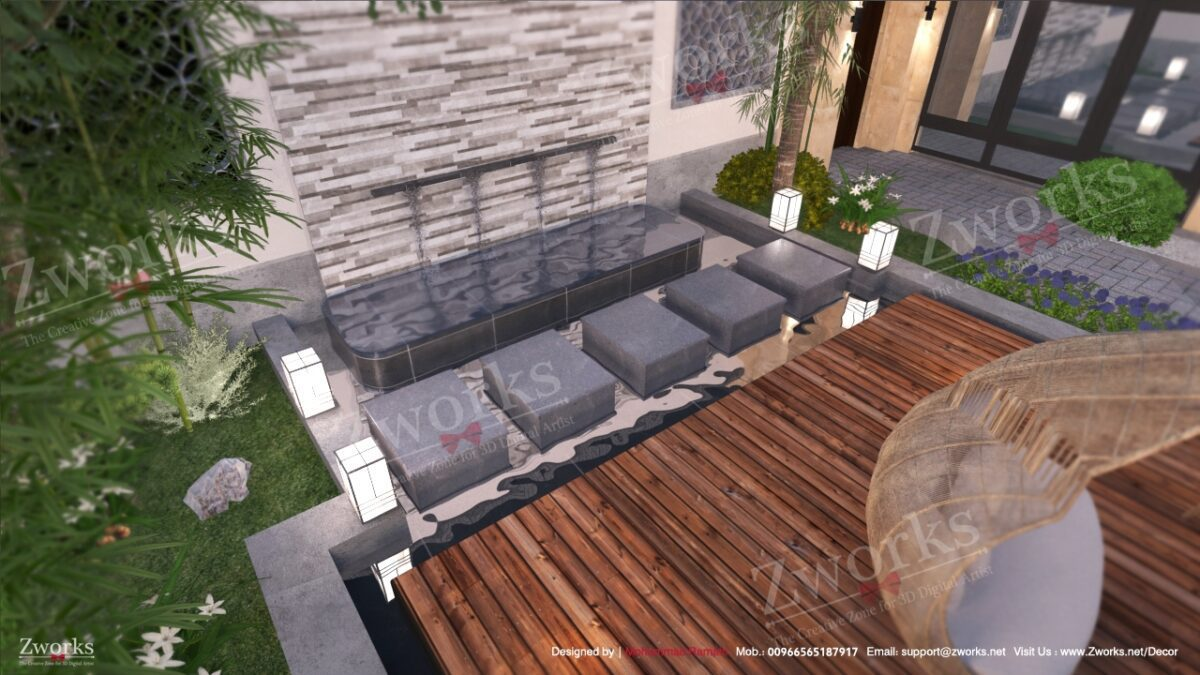 Landscape Outdoor 3D Model (Copy)